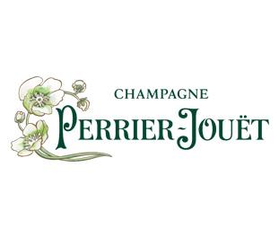 Logo Champagne Perrier Jouet Partenaire Adresses Exclusives et Symboles de France Hotels