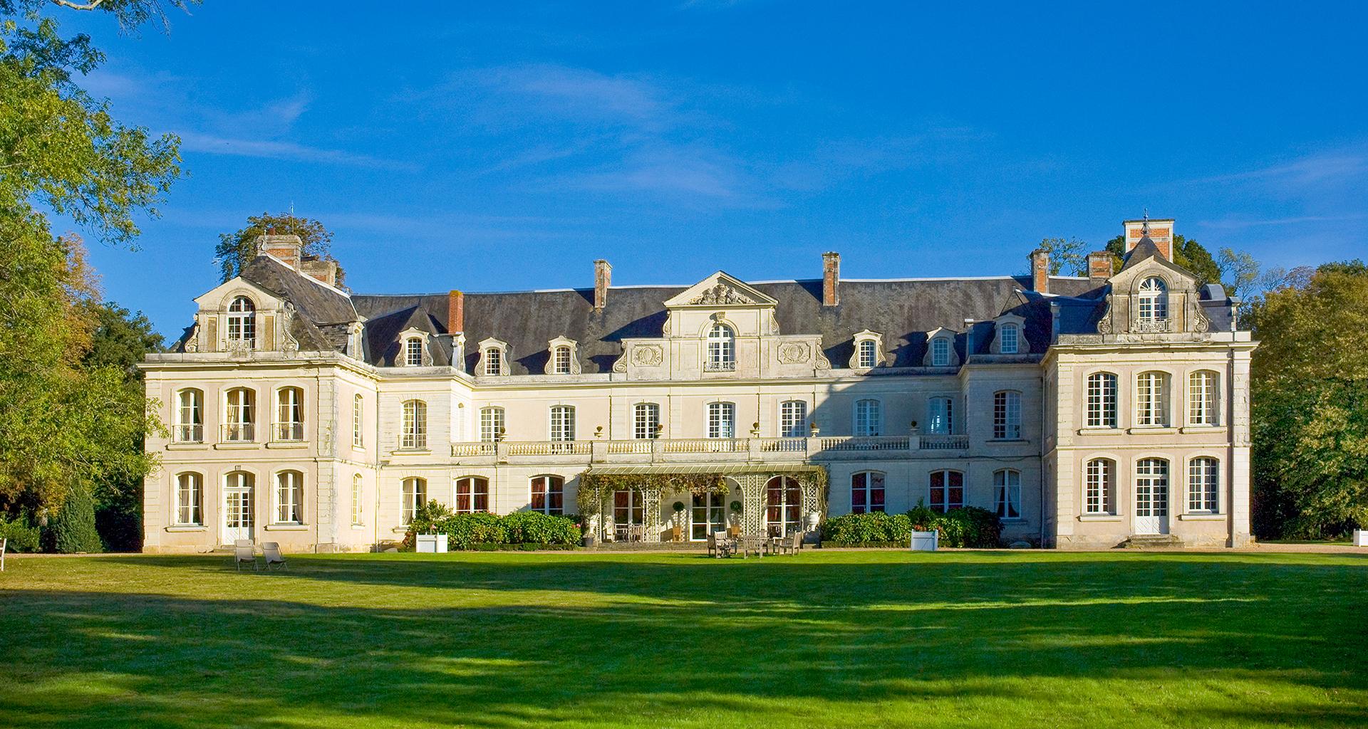 Château de Briottières, chambre d'hôtes Angers, Val de Loire, Adresses Exclusives