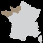Région Bretagne et Normandie