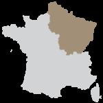 Région Île de France, Paris, Grand-Est, Bourgogne